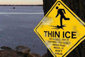 Is The Stock Market Now On Thin Ice?